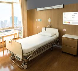 Claridge Healthcare Design Patient Room Glassboard