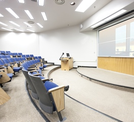 Claridge Products Lecture Hall Glass Vertical Slider