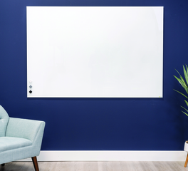 Claridge Products Profile Series Frameless Porcelain Markerboard