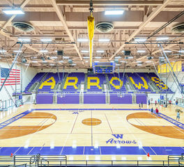 CO-OP Architecture Watertown High School Arena Watertown South Dakota Basketball Courts