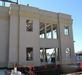Cook Children's Medical Center Gate Precast Mortarr Process shot