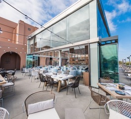 Cover glass usa the lot at liberty station exterior dining