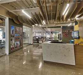 Cuningham Group 3770 Howard Hughes Parkway Las Vegas Office Reception Design