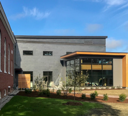 CupaClad USA Shelburne Pierson Library Center Design Shelburne Vermont Exterior Cladding