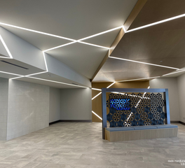 dado lighting 11000 weston parkway office interior