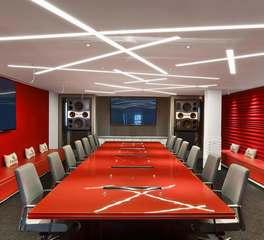 Dado lighting simpleline conference room