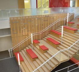Darkhorse Lightworks USC Social Sciences Interdisciplinary Building stairway