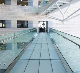 Denver Glass Interiors Maverik Laminated Glass Interior Walkway