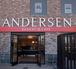 Dern Architecture Design Development Andersen Bakery Cafe exterior entrance