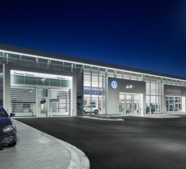 D.j. Kranz Co inc luther brookdale volkswagen dealership design