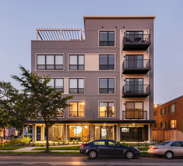 DJR Architecture Archer Apartments Exterior Design Minneapolis Minnesota