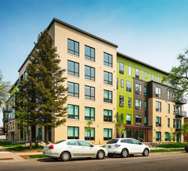 DJR Architecture Blaisdell Apartments Facade Colors and Finishes Minneapolis Minnesota