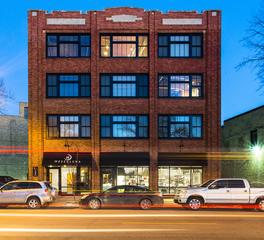DJR Architecture Lofts on Roberts Apartment Housing Exterior Brick Finish Fargo North Dakota
