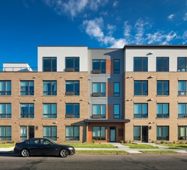 DJR Architecture The Central Apartments Minneapolis Minnesota Front Facade