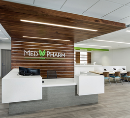 Dras Cases MedPharm Iowa Custom Millwork Design