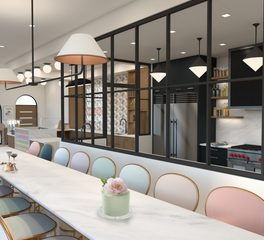 Earles Architects and Associates Moloko Milk Bar dining area