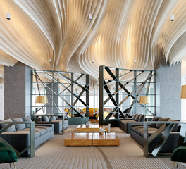 Eclectic Contract Furniture Shibuya Crossing Wall Lounge Design and Commercial Furniture