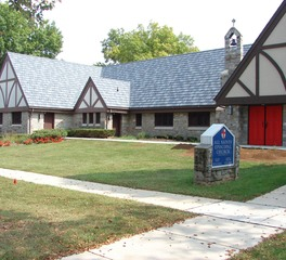 Edco products All Saints Episcopal Church Twin Cities MN ArrowLine Slate Stone Blend roofing 1