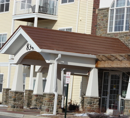 EDCO Products Bloomington Apartment Complex ArrowLine Shake Copper Exterior 4