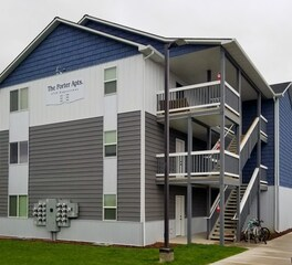 EDCO Products The Porter Apartments Exterior Entex Traditional Lap Siding and Board and Batten