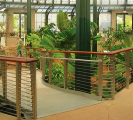 Feeney Inc Huntington Gardens Conservatory cablerail custom cable assemblies system