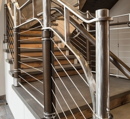 feeney inc nor-son construction office railing cablerail