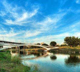 Feeney Inc Phyllis Tilley Memorial Bridge Custom Cablerail