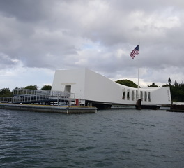 Feeney Inc USS Arizona Memorial Dock Replacement Designrail with cablerail infill
