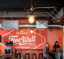 Fixt electric 5 watt coffee E. Hennepin minnesota cafe lighting design 11
