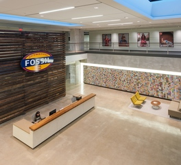 Fossil Headquarters Urban Woods Company Reception and Lobby