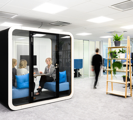 Framery Acoustics Framery Q Open Office Hallway Privacy Booth