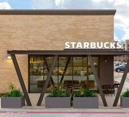 Franz Architects Starbucks exterior front