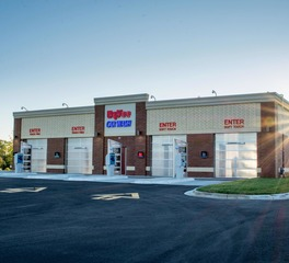 Fullerton building systems Hy-Vee Carwash - Shakopee, MN - finished