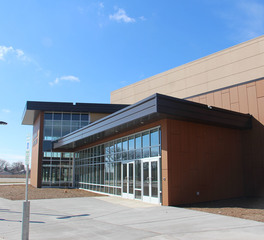 Gage Brothers Canton Performing Arts Center Canton South Dakota Precast Veneer Exterior Design