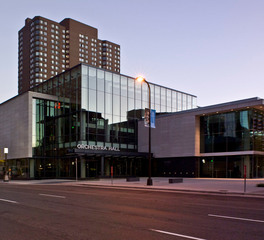 Gage Brothers Minnesota Orchestra Hall Exterior Precast Concrete and Window Facade
