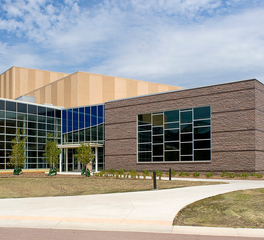Gage Brothers Oscar Larson Performing Arts Center Performance Center Exterior Window Envelope