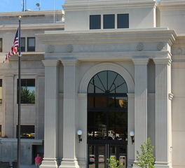 Gage Brothers Pennington County Courthouse Addition Main Entrance
