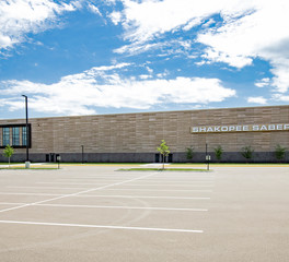 Gage Brothers Precast Shakopee High School Expansion Shakopee Minnesota
