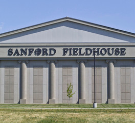 Gage Brothers Sanford Fieldhouse Exterior Signage