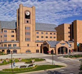 Gage Brothers Sanford Heart Hospital Design Exterior Finish