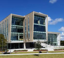 Gate Precast FIU Student Academics Exterior Glass Envelope and Precast Miami Florida