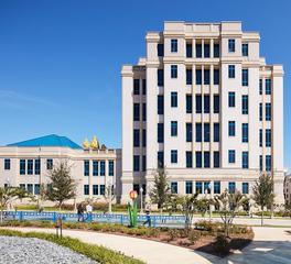 Gate Precast Hospital Design Cook Children's Medical Center Fort Worth Texas Exterior Precast Facade