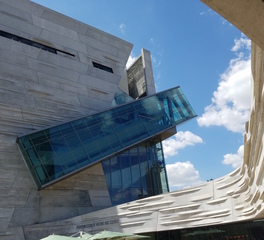 Gate Precast Perot Museum of Natural and Science Exterior Precast Glass Facade