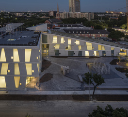 Gate Precast The Glassell School of Art Houston Texas Window Designs and Precast Facade