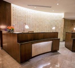 Gator Millworks JW Marriott Reception Desk