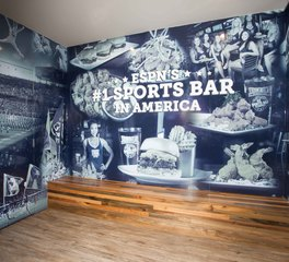 Gator Millworks Walk-On's Feature Wall