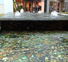 GRT Glass Water Feature King of Prussia Mall, Pennsylvania