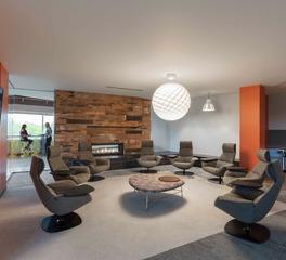 HCM Architects Boston Scientific WL1 Hagen Christensen McIlwain Architects Comfortable Meeting Space