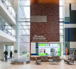 HCM Architects Boston Scientific WL3 Hagen Christensen McIlwain Architects Lobby Design