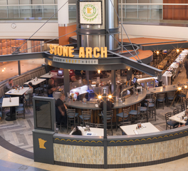 HCM Architects Stone Arch Bar and Restaurant MSP Airport Restaurant Design